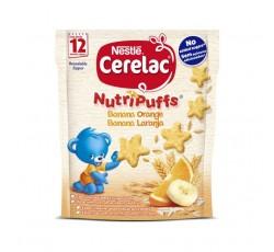 CERELAC NUTRIPUFFS BANANA LARANJA 50G 12M+