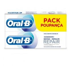 Oral B Geng Esmal Rep Past Branq 75+25mL X2
