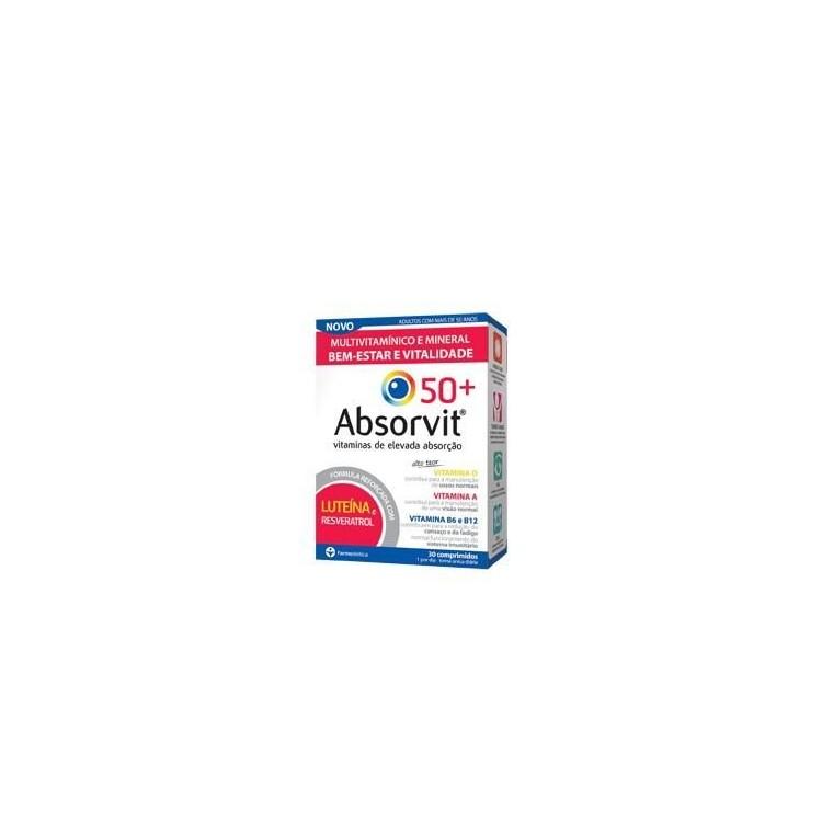 Absorvit 50+ Comp X 30 Comps