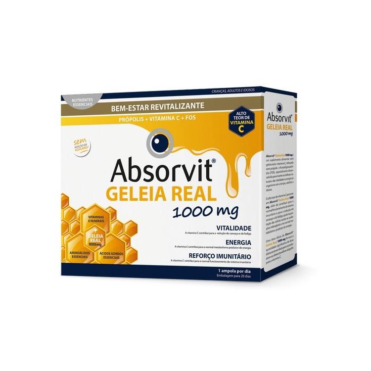 Absorvit Geleia Real Amp 10 mL X 20 Amp Beb