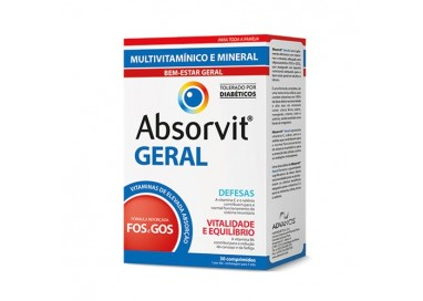 Absorvit Geral Comp X 30