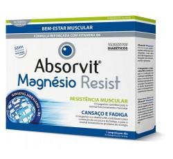 Absorvit Magnesio Resist Sol Amp 10mL X10 Sol Oral Dil