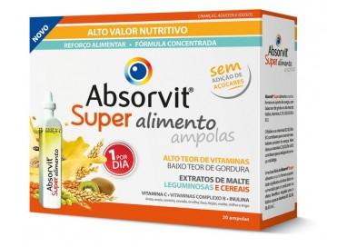 Absorvit Super Alimento Amp 15mL X20 Sol Oral Dil