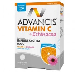 Advancis Vit C+ Equinacea Comp Eferves X 12 Comp Eferv