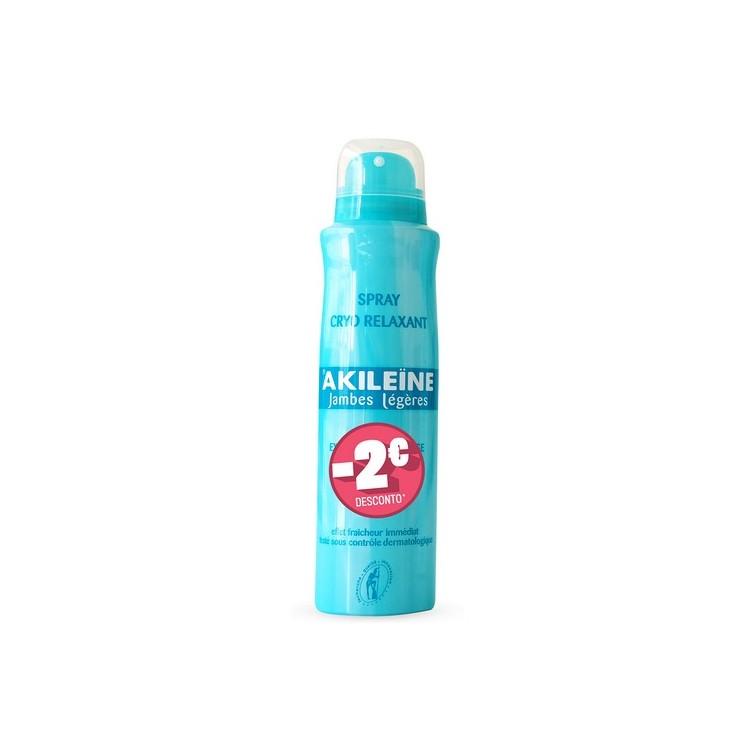 Akileïne Spray Pernas Cansadas 150 mL Com Desconto De 2€