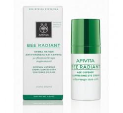 Apivita Bee Radiant Creme Defesa Anti-Idade Iluminador De Olhos 15mL