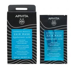 Apivita Express Beauty Máscara Capilar Hidratante De Ácido Hialurónico 20mL