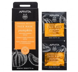 Apivita Express Beauty Máscara Detox De Abóbora 2X8mL