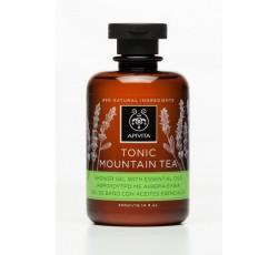 Apivita Gel De Banho Tonic Mountain Tea Com Óleos Essenciais 300mL