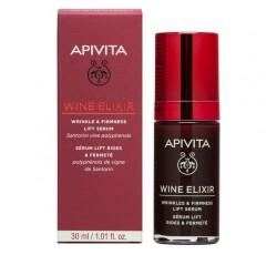 Apivita Wine Elixir Sérum Antirrugas & Refirmante Com Efeito Lifting  30mL