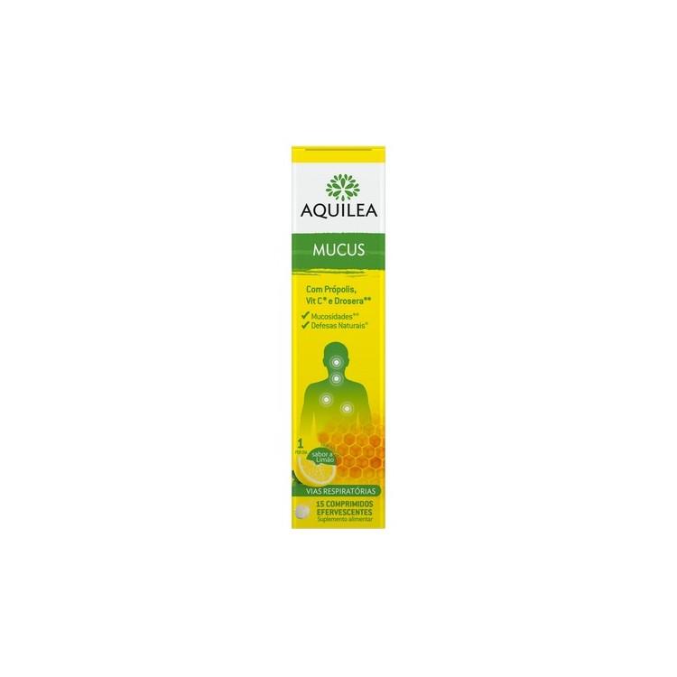 Aquilea Mucus Comp Eferv Limao X15