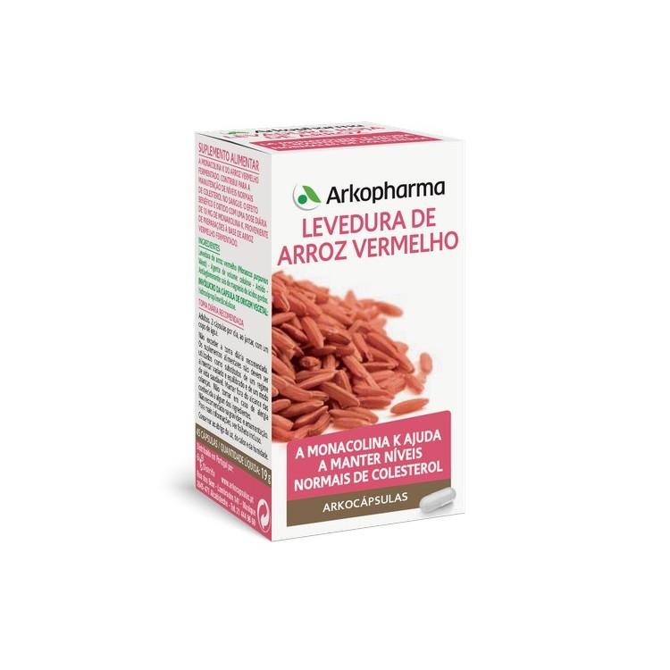 Arkocapsulas Levedura De Arroz Vermelho 45 Caps