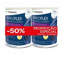 Arkoflex Colagénio Duo Pó Para Solução Oral 2 X 360 G Sabor Limão Com Desconto De 50% Na 2ª Unidade(S)