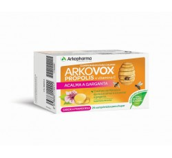 Arkovox Propolis+ Vit C Framboesa Comp X 24
