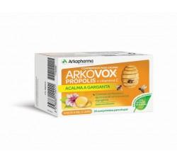 Arkovox Propolis+ Vit C Mel/Limao Comp X 24