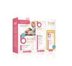 Barral Motherprotect Trio - Creme Gordo 200mL+Loção Prevenção Estrias 200 mL+Creme Protetor De Mamilos 40 mL (Oferta)