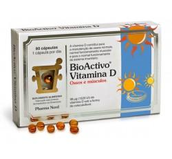 Bioactivo Vitamina D Caps X80