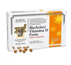Bioactivo Vitamina D Forte Caps X80