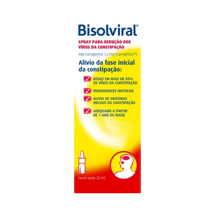 Bisolviral Spray Nasal 20 mL