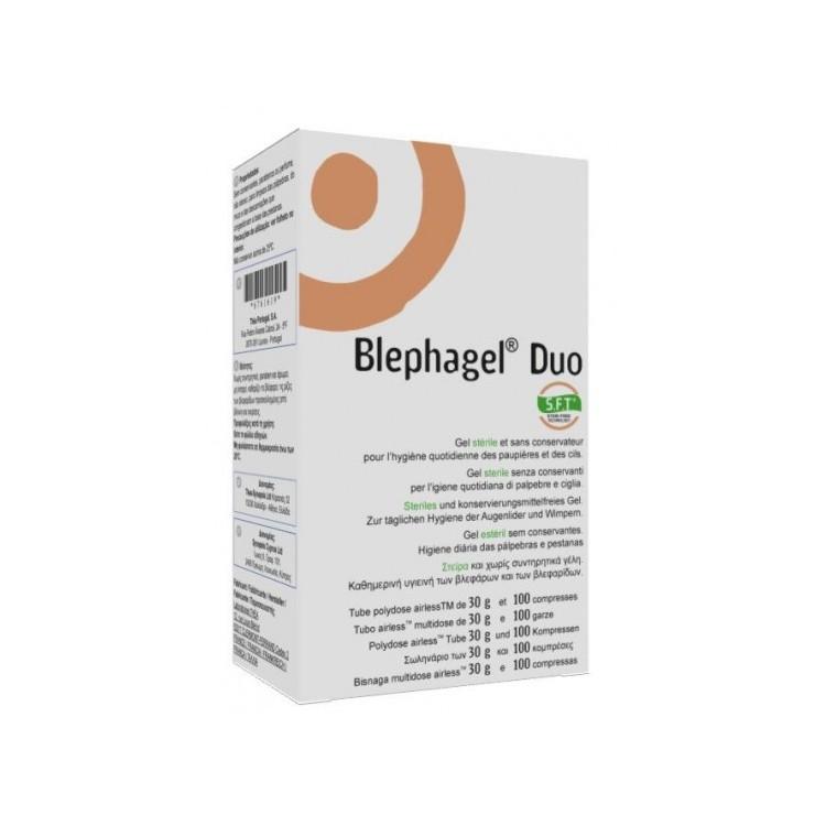 Blephagel Duo Cpssa + Gel Palpebras
