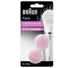 Braun Face Esc Limp Sensiv Substit 80 X2