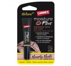 Carmex Moist Plus Hid Lab Nearly Nud3,8