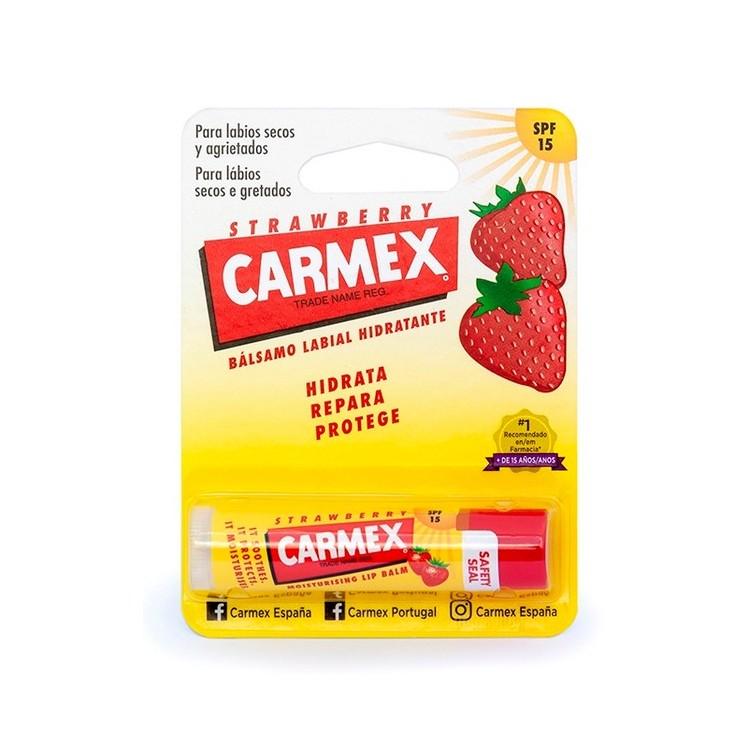 Carmex Stick Hid Lab Spf15 Morango 4,25G