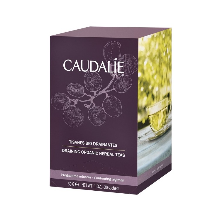 Caudalie Tisanes Cart Cha Bio Drain X 20