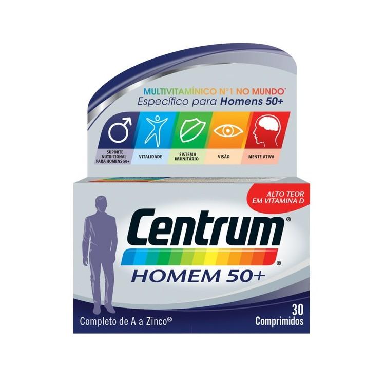Centrum Homem 50+ X 30 Cp
