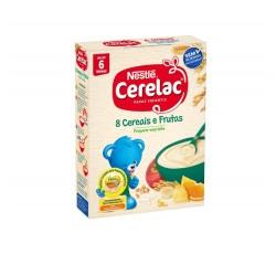 Cerelac 8 Cereais Fruta 250G 6M+