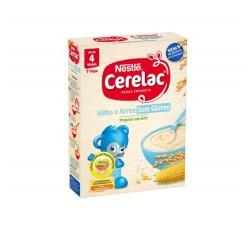 Cerelac Farinha Milho Arroz S/Glut 250 G