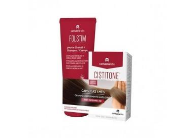 Cistitone Forte Caps 60+Folstim Phys Ch A/Queda 200mL Preço Espec 3€