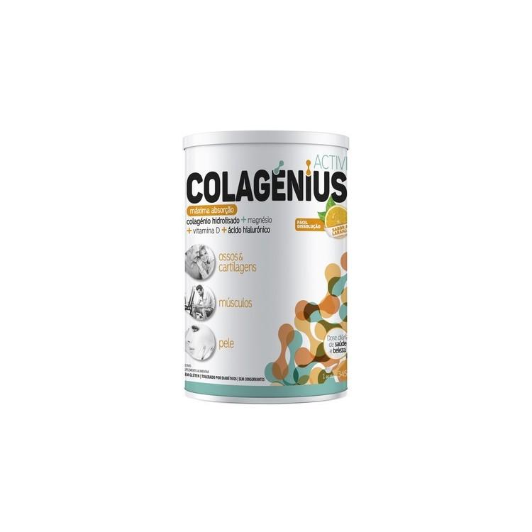 Colagenius Active Laranja Po 345G