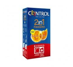 Control 2In1 Finissimo Kit Pres+Gel X6