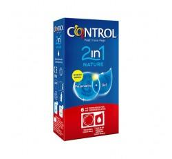 Control 2In1 Nature Preserv + Gel X6