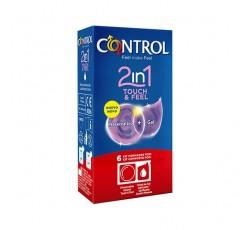 Control 2In1 Touch Feel Preserv+Gel X6