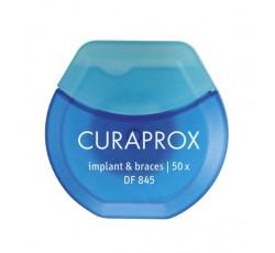 Curaprox Fio Dent Implantes Df845 50M