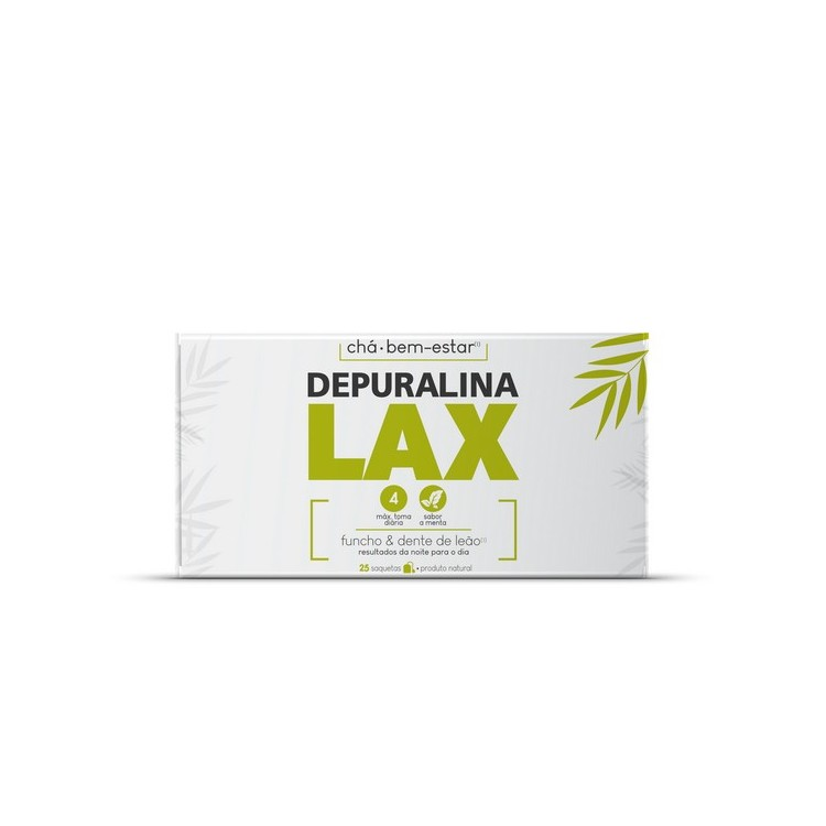 Depuralina Lax Cha Funcho Dent Leao Saq X25