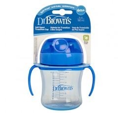 Dr. Browns Copo Transicao Macio 180mL +6M 156892.2