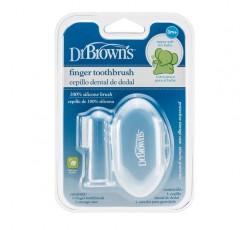Dr. Browns Escova Dental Dedo Com Estojo