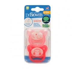 Dr. Browns Prevent Chup Brilha Escur 12M+ X2 178813.9