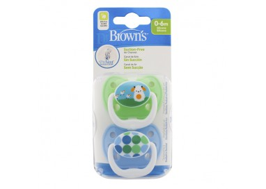 Dr. Browns Prevent Classic Chup 0-6M X2 168372.4