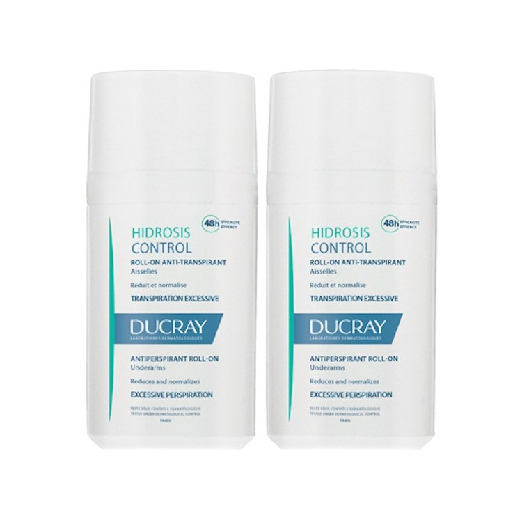 Ducray Hidrosis Control Roll On 40mL Duo