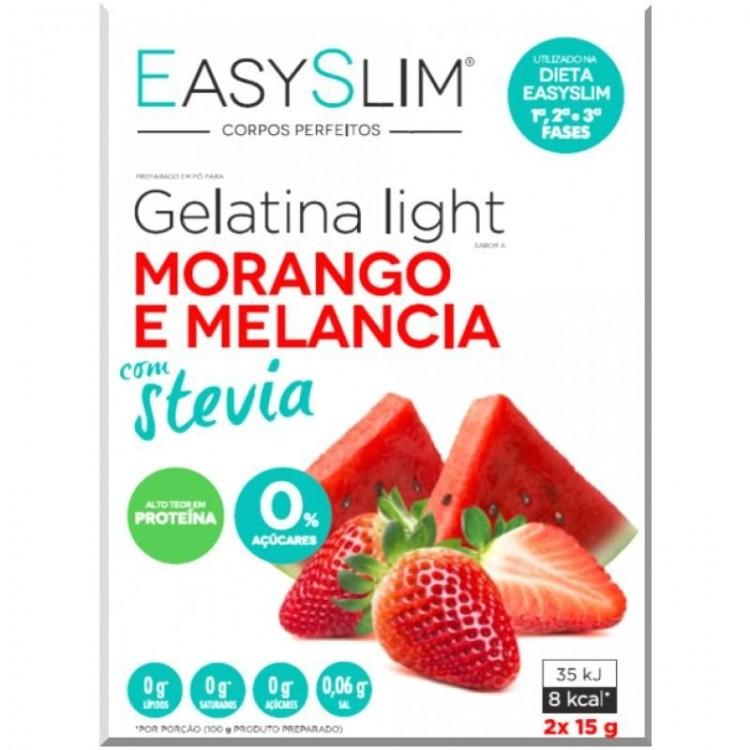 Easyslim Gelatina Lg Moran/Melan Stev Saqx2 Pó Sol Oral Saq