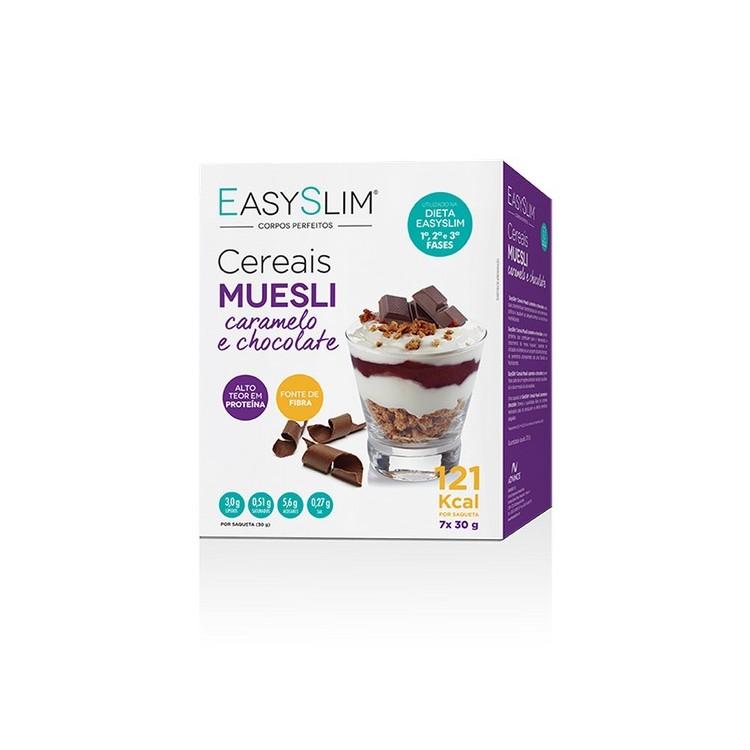 Easyslim Muesli Car/Choc Cereais 30G X 7