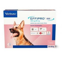 Effipro Duo Cao L 268Mg/20-40Kg 4 Pip
