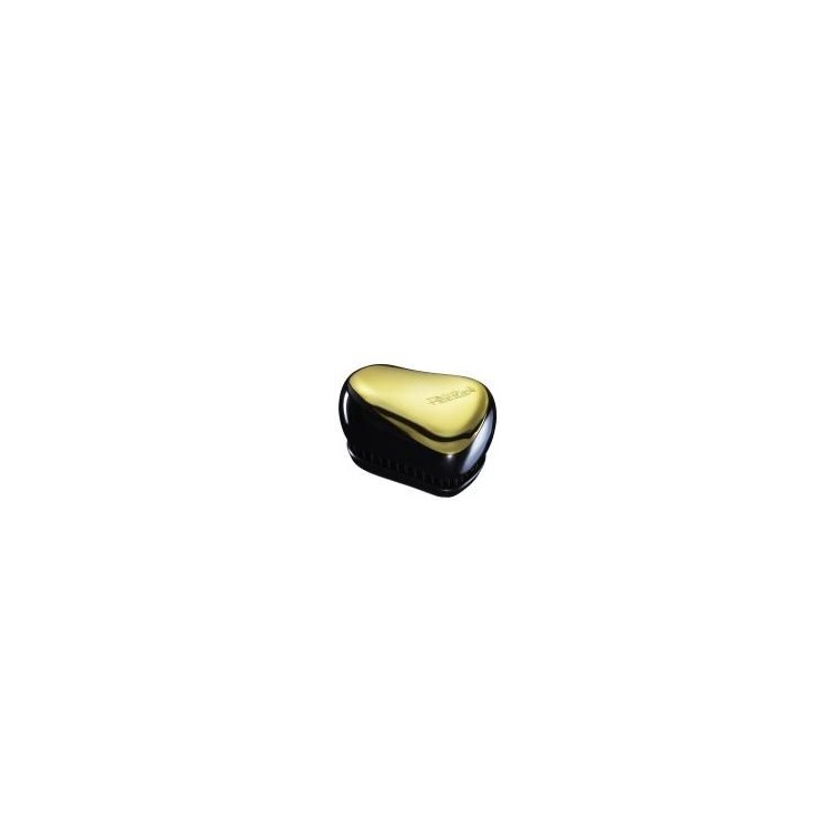 Escova Tangle Teezer Compact Preto/Dourado