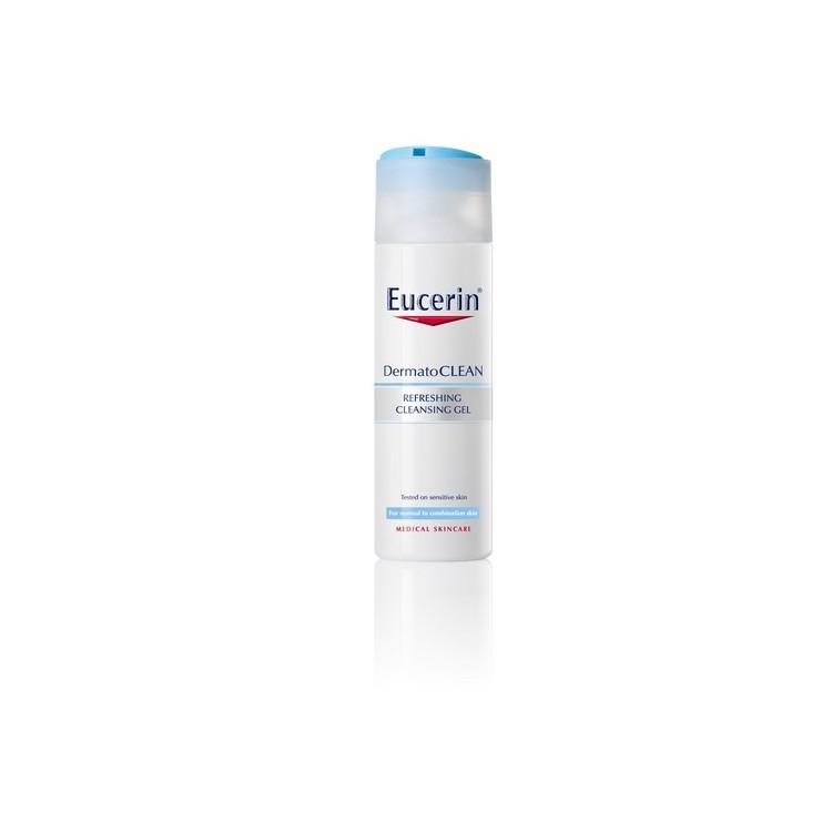Eucerin Dermatocl Gel Limp Refresc 200 mL