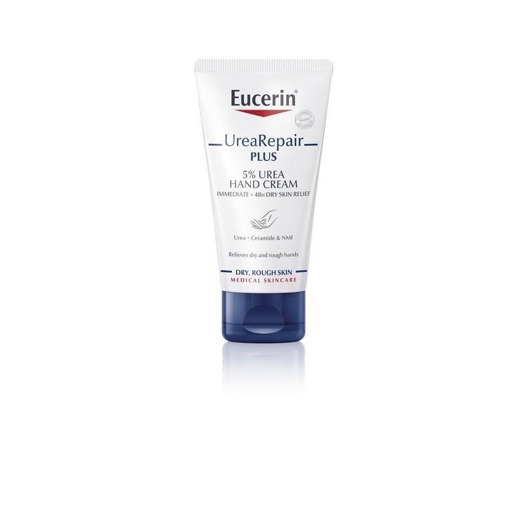 Eucerin Pele Seca Ureia Rep Cr Maos 5% 75mL