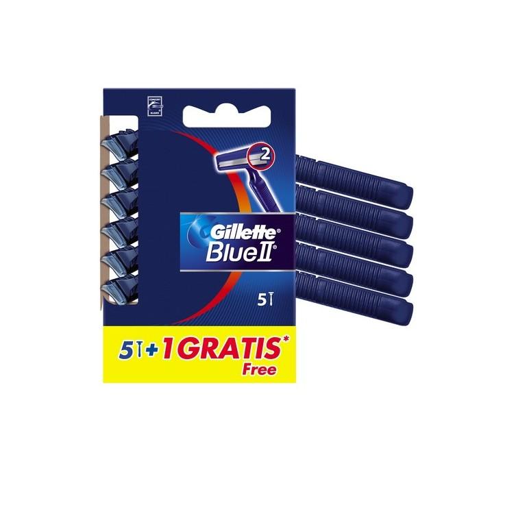 Gillette Blue Ii Fixa 5+1